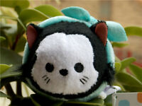 "New Disney Tsum Tsum Cat Series Black Figaro ""Pinocchio"" Plush Toy Collectible"