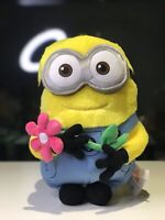 Brand New Minion Minions Plush Flower Japan Universal Studio Soft Fluffy Rare