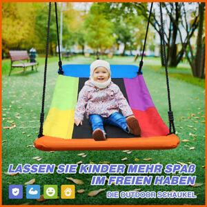 NEU Nestschaukel 150*80 cm in blau Mehrkindschaukel Textilene Stoff Bis 300 kg