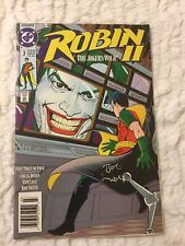 1991 DC Comics Robin II # 3 The Joker's Wild Part 3 signed by Bob Smith