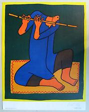 Robert Rutman print (Flute Payer signed 1976)