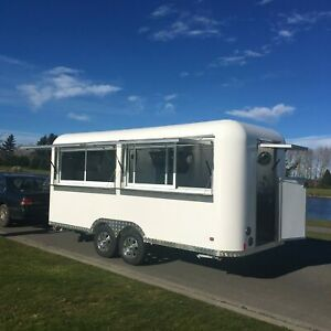 Ready for business Superb Mobile Kitchen/ Used Food trailer fully equipped