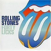 The Rolling Stones - Forty Licks (2003) CD - Limited Edition Blue Lips [X1]