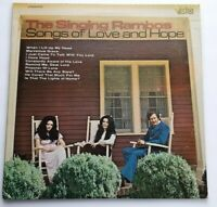 The Singing Rambos Songs of Love and Hope LP Vista