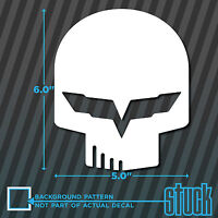 """Jake Skull C6R - 5"""" x 6"""" - vinyl decal sticker corvette vette racing z06 c6 c7"""