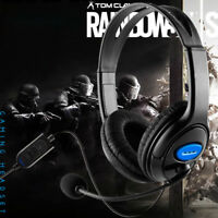 Wired Gaming Headset Headphones with Microphone for PS4 PC Laptop Mac Phone US