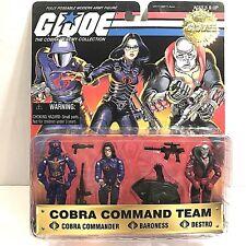 GI Joe Cobra Commando Team 1997 Baroness Destro Commander 15th Anniversary
