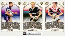2007 Select NRL Invincible Trading Cards Case Card Cc8 Darren Lockyer