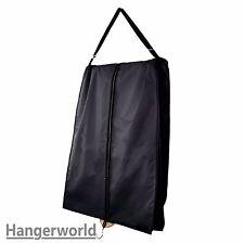 """Hangerworld™ 72"""" Large Black Carry Garment Bag Ball Gown Wedding Prom Dress Bar"""