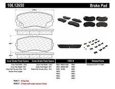 Disc Brake Pad Set Front,Rear Centric 106.12650