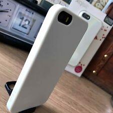 iPhone 5 SE 5S Original Case Ultra Slim Impact Resistant High Density Gel White