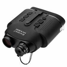 BARSKA Night Vision Nvx300 Infrared Illuminator Digital Binoculars, Black, Mo...