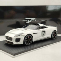 Jaguar F-Type Project 7 Ecurie White Resin Model Limited Edition Collection 1:18