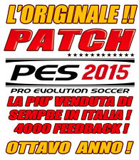 PATCH PES 2015 PS3 - OPTION FILE - AGGIORNAMENTO AL 2015-2016  ROSE E DIVISE