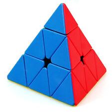 ShengShou Tank 3x3 Pyramid Speed Cube Pyramid Cube Stickerless Puzzle