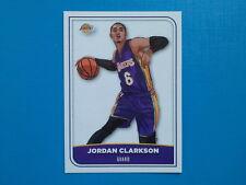 Figurine Panini NBA 2017-18 2018 n.255 Jordan Clarkson Los Angeles Lakers