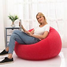 Aufblasbares Sitzsack Gamer Sessel Beanbag Tobekissen Für Innen & Außen