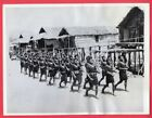 1943 Royal Papuan Constabulary Police Drilling New Guinea Original News Photo