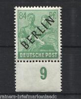Berlin Nr. 16 UR dgz postfrisch Unterrandstück MNH Michel 175,00 €