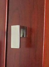 Modern Satin Nickel Kitchen Cabinet Door Drawer Hardware Handle Pull knob K19SN