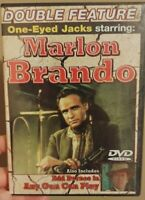 Double Feature DVD:One-Eyed Jack-Marlon Brando/Any Gun Can Play-Edd Byrnes**NEW*
