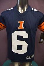 Gen2 Youth Ncaa Illinois Fightin' Illini #6 Football Jersey Look S