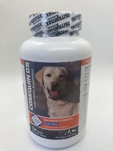 Cosequin Maximum Strength MSM Dogs All Sizes (132 Chewable Tablet) NEW 03/2023