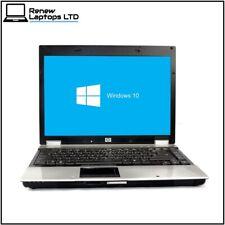 "HP EliteBook 6930p 14.1"" Laptop, Core 2 Duo 2.26Ghz, 3Gb Ram, 120Gb HDD, Win 10"