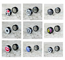 Stainless Steel Magnetic Costume Earrings without Stone