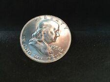 1958  BENJAMIN FRANKLIN HALF UNCIRCULATED 90% Silver