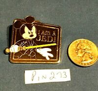 Disney Mystery Pin Star Wars Mickey Mouse Luke Skywalker I am a JEDI  #StarWars