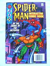Spider-Man Interactive Comic Books (1996) Dr. Octopus & Hobgoblin LOT of 2