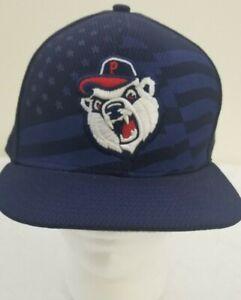 Pawtucket New Era 59Fifty Hat Pawsox Red Sox July 4th Rare EUC 7 1/2