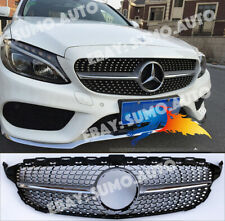 Mercedes C w205 saloon,estate AMG/DIAMOND/ONE FIN GRILL,C63 look,c200D,c220Dc250