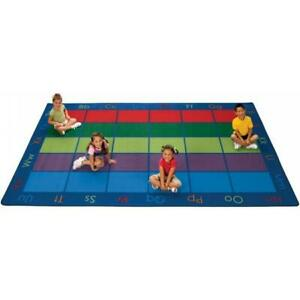 Carpets For Kids 8634 Colorful Places Seating 8.33 ft. x 13.33 ft. Rectangle Rug
