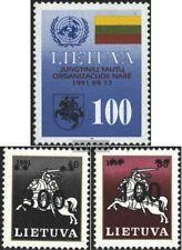 Lituanie 495,514,515 (complète.Edition.) neuf avec gomme originale 1992 Nations