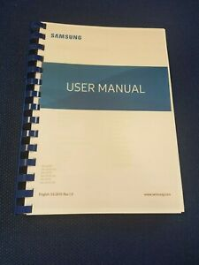 SAMSUNG GALAXY S10 PLUS G975F PRINTED INSTRUCTION MANUAL GUIDE  PAGES A5 269
