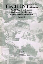 Tech Intell vol 2 - US Army captured enemy  AFV reports, sb book VG