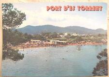 Port d'es Torrent, Ibiza, Spain postcard