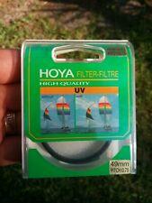 Hoya 49 mm HMC UV Filtro Polarizador Circular Delgado /& Kit Filtro Doble