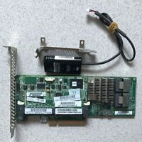 HP Smart Array P420 512MB FBWC PCI-E SAS RAID 2Port Controller Card Battery