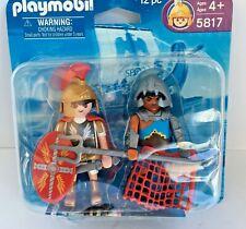 Playmobil Roman Soldier & Gladiator Two-Pack 5817 Retired PM-1