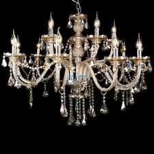 Candle Chandeliers Vintage Modern Crystal Ceiling Lighting Fixtures 15 Arm Light
