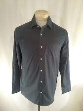 VOLCOM Mens Grey Shirt Diagonal Shoulder Seam Classic Slim Fit Sz Small