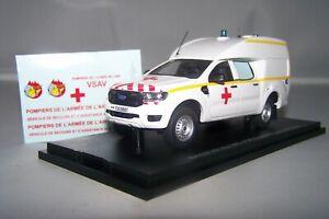 1/43 Ambulance Alarme 0045 Ranger BSE Militaire avec decals