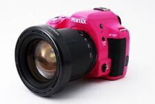 Pentax K-50 16.3MP 28-200mm Lens Set Pink [Exc w/8GB SD Card,Strap [41]