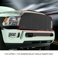 Billet Grille Grill Combo  For Dodge Ram 2500/3500 2013-2017