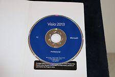 Microsoft Visio Professional 2013 - BRAND NEW (32-bit and 64-bit)