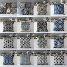 Natural Cotton Pillow Case Waist Throw Cushion Cover Home Sofa Decor Deluxe