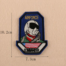 Air Force  Embroidery Sew Iron on Patch Badge Fabric Clothes Applique Transfer